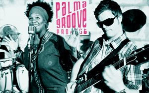 Palma Groove Project poster - Sheela Gathright and Orlando Lund