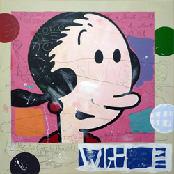 Olive Oyl - painting copy by Orlando Lund